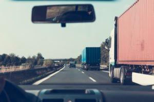 Phoenix, AZ – Center Lane of Interstate 10 Blocked by Car Accident