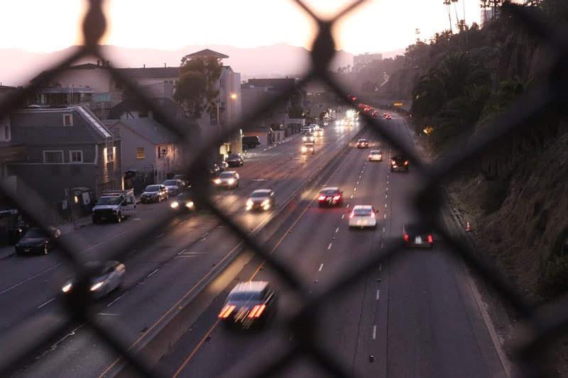 Glendale, AZ - Crash Blocked HOV Lane on L-101 at 51st Ave