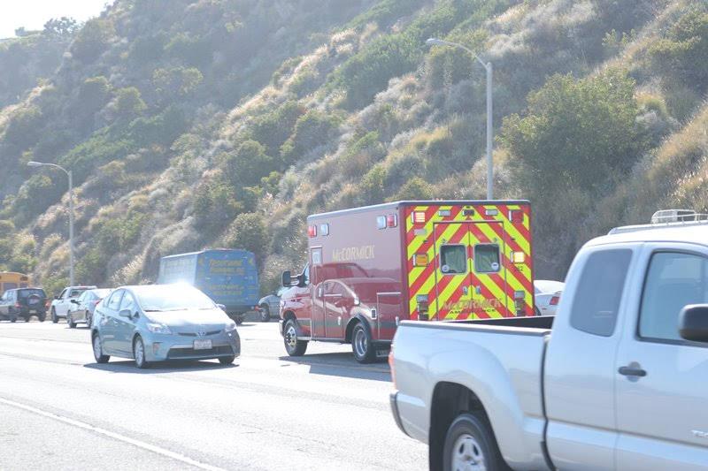Phoenix, AZ - 2-Car Crash Causes Injuries on I-10 at 7th Ave