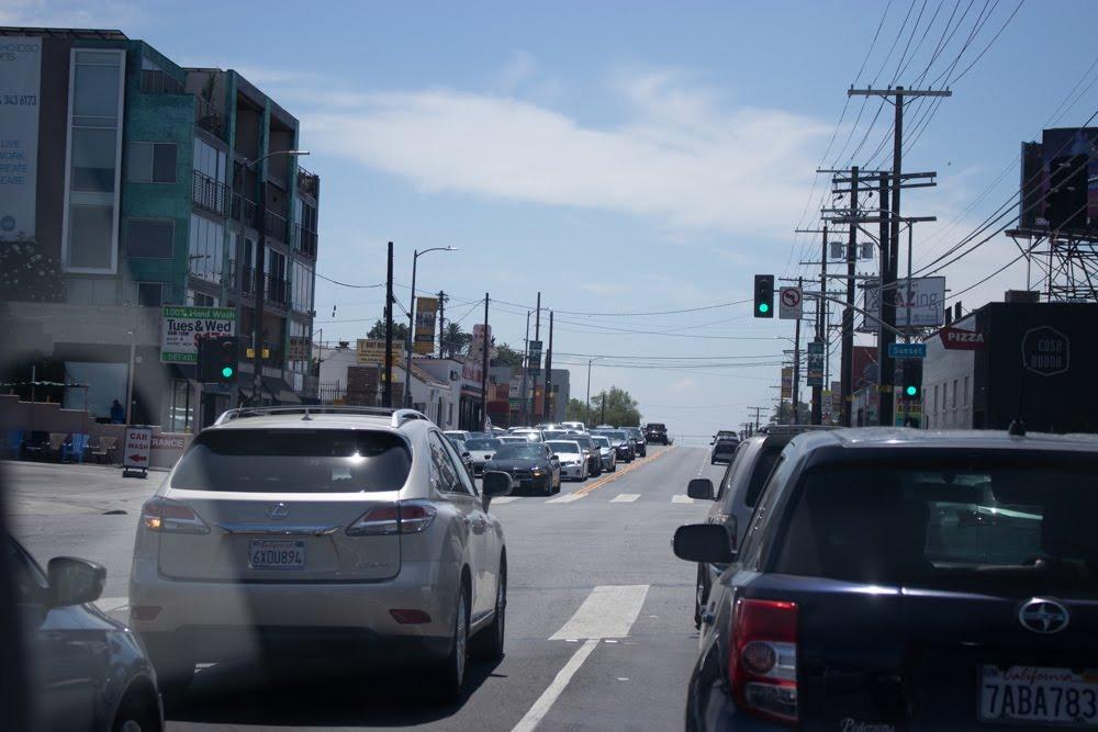 Phoenix, AZ - Crash Blocks Transition Ramp at I-10 & I-17