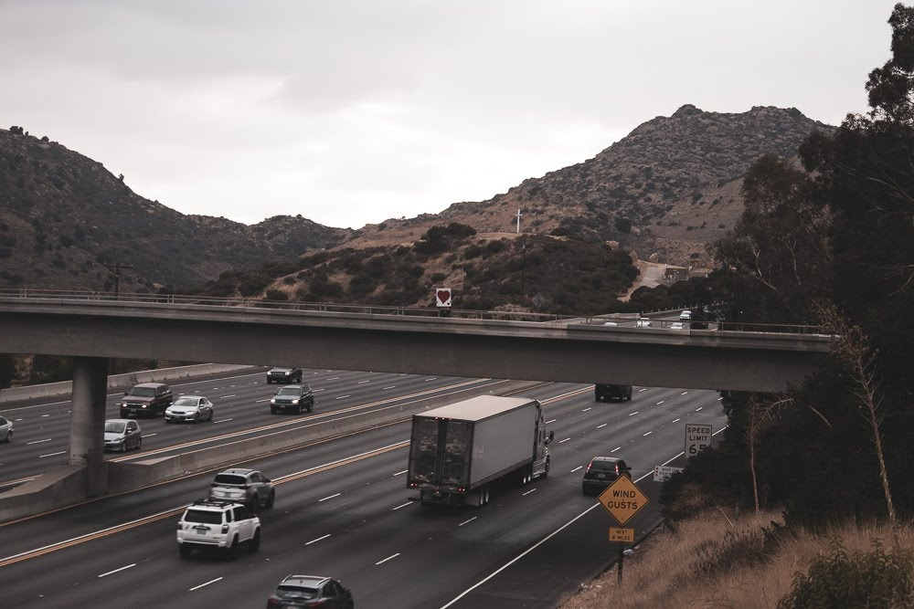 Phoenix, AZ – 2-Car Accident on I-10 Blocks Left Lane