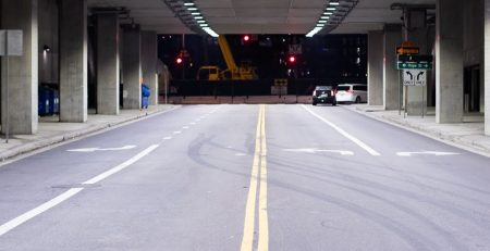 11.19 Phoenix, AZ - Officers Investigating Injury Car Crash on I-17 at I-10 Stack