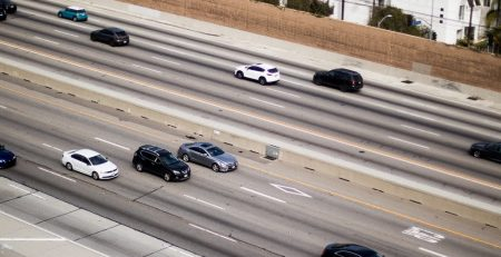 Phoenix, AZ - Injuries & Vehicle Fire Reported in Car Accident on I-17 at 7th St