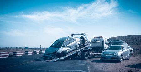Phoenix, AZ - Officers Investigating Car Crash on L-202 at I-10 & 7th Ave