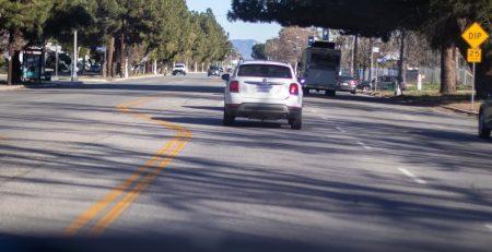 Phoenix, AZ - Officers Investigating Car Wreck on L-202 at Van Buren & Buckeye
