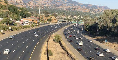 Phoenix, AZ - Officers Investigating Fatal Car Crash on L-101 at 7th Ave