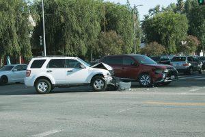 Phoenix, AZ - Officers Investigating Two-Car Crash on I-10 at Deck Park Tunnel