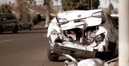 Phoenix, AZ - Two Hospitalized After Car Crash at 35th Ave & Indian School Rd