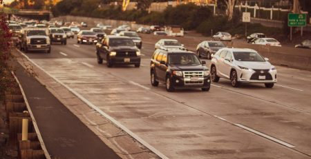 2.22 Phoenix, AZ - Police Investigating Injury Car Accident on I-10 at 40th St