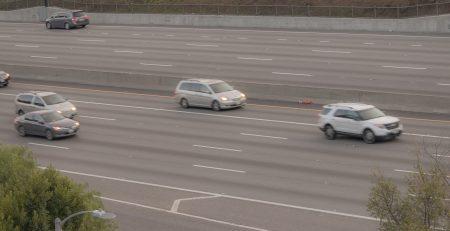 Mesa, AZ - Officers Investigating Injury Crash on US 60 at Mesa Dr