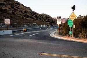 Seligman, AZ - Two-Car Crash Causes Injuries on I-40 EB at Rt 66