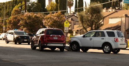 Phoenix, AZ - Car Crash Causes Injuries on I-17 NB at Glendale Ave